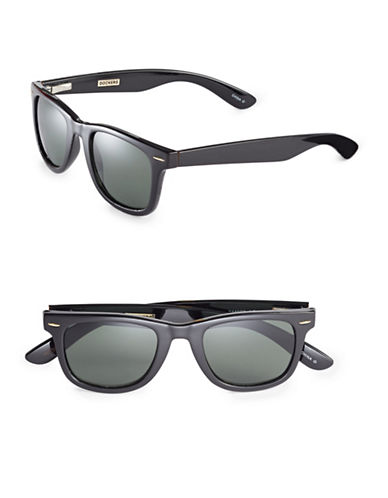 Dockers 50mm Wayfarer Sunglasses-BLACK-One Size