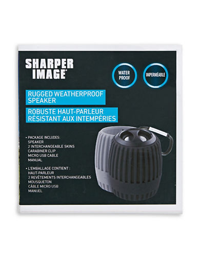 Sharper Image/Mvmt/Blksmth Bluetooth Weatherproof Shower Speaker-NO COLOR-One Size