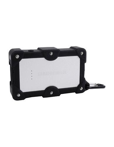 Sharper Image Dual Port Weatherproof Power Bank-BLACK-One Size