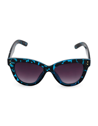 Steve Madden 55mm Medium Cat-Eye Sunglasses-BLUE-One Size