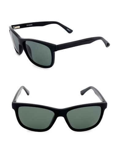 Dockers Rectangular 51mm Wayfarer Sunglasses-GREEN-One Size