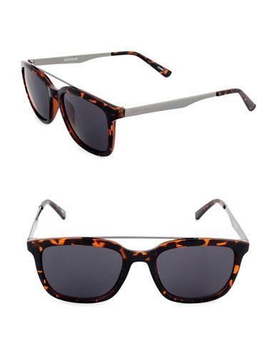 Dockers Raised Bar 50 mm Wayfarer Sunglasses-SMOKE-One Size