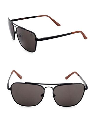 Dockers Caravan 58mm Square Sunglasses-SMOKE-One Size