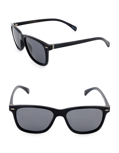 Dockers Tortoiseshell 53mm Wayfarer Sunglasses-SMOKE-One Size