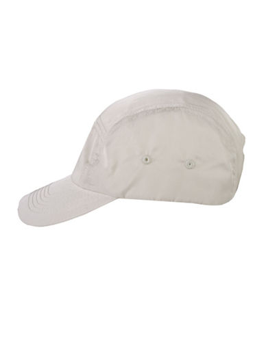 Nine West Nylon Baseball Cap-TAN-One Size