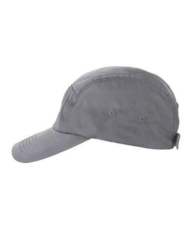 Nine West Nylon Baseball Cap-GREY-One Size