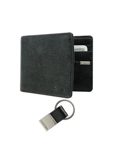 Calvin Klein Slimfold Wallet-BLACK-One Size