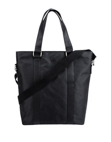 1670 Garet Top Zip Tote-BLACK-One Size