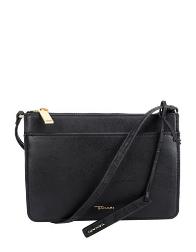 T Tahari Cameran Crossbody Bag-BLACK-One Size
