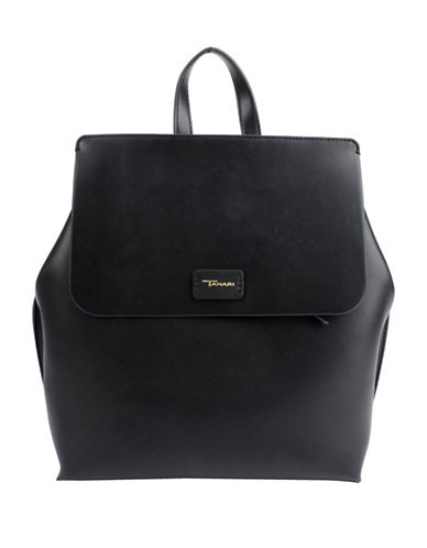 T Tahari Madison BackPack-BLACK-One Size
