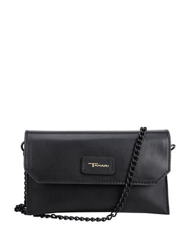 T Tahari Madison Crossbody Bag-BLACK-One Size