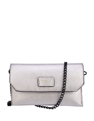 T Tahari Madison Crossbody Bag-PEWTER-One Size