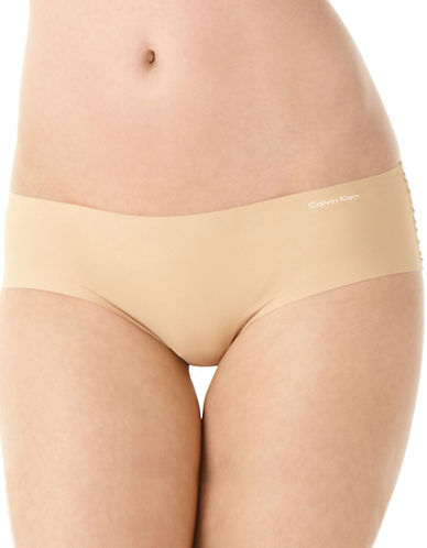 Calvin Klein Invisibles Hipster-DARK BEIGE-Medium