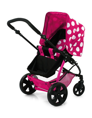 ICoo iCoo Pacific Duo Stroller-PINK DOTS-One Size