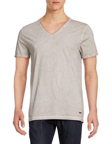 Boss Orange Toulouse V-Neck T-Shirt-GREY-Medium 86992311_GREY_Medium
