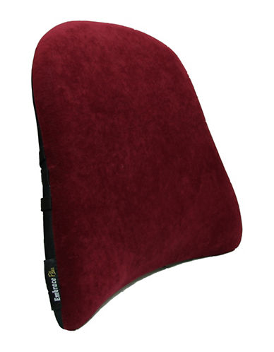 Ezee Life Back Support-BURGUNDY-One Size