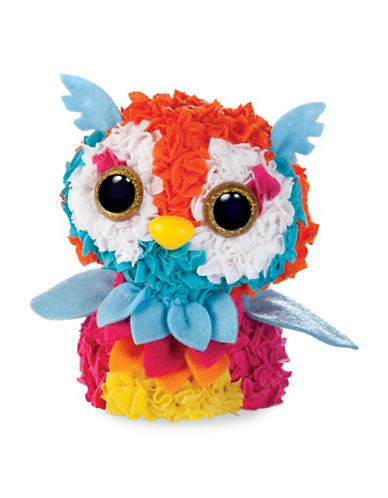 Orb Factory Plushcraft 3D Owl-ASSORTED-One Size