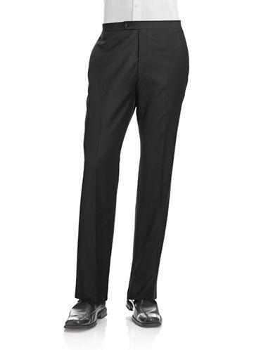 Calvin Klein Tuxedo Pants-BLACK-34X32