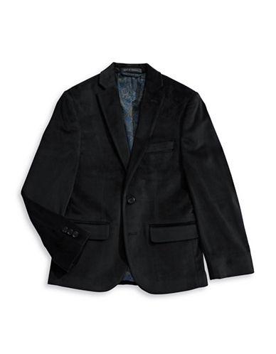 Lauren Ralph Lauren Velvet Sport Coat-BLACK-10