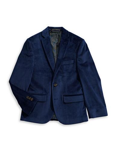 Lauren Ralph Lauren Velvet Sport Coat-BLUE-8
