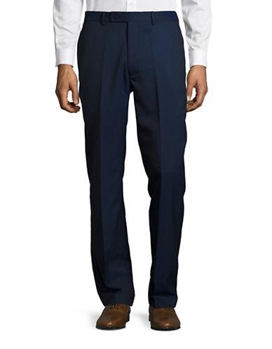 Calvin Klein Slim-Fit Dot Pants-BLUE-35X34