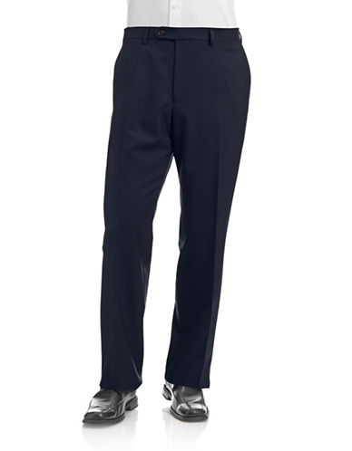 Lauren Ralph Lauren Stretch Dress Pants-NAVY-30
