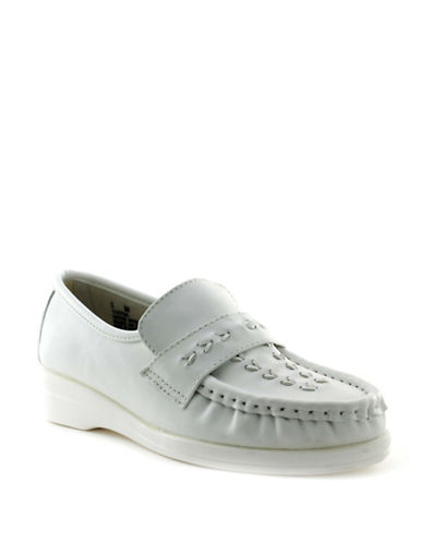 Softspots Venus Lite Loafers-WHITE-6.5