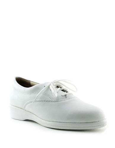 Softspots Jocelyn Oxford Shoes-WHITE-7W