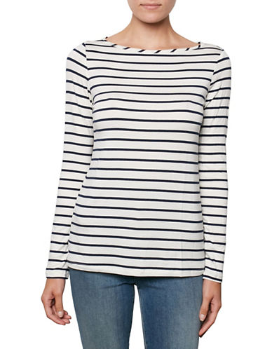 Amour Vert Semi-Fit Boat Neck Top-MARIST-Medium