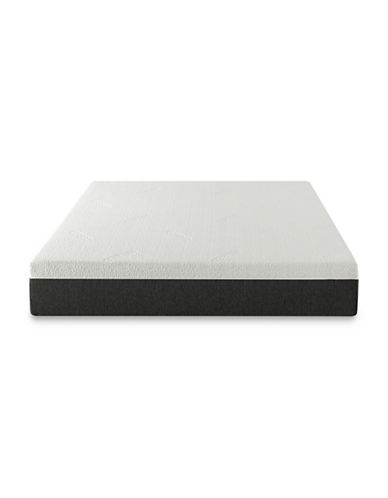 Zinus 10-Inch Gel Infused Memory Foam Cool Cover Mattress-WHITE-King