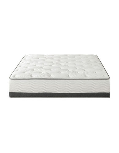 Zinus 12-Inch Gel Memory Foam Spring Hybrid Mattress-WHITE-Queen