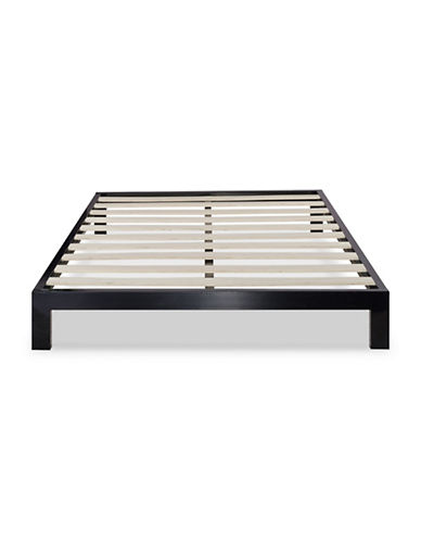 Zinus Platform 2000 Metal Bed Frame-BLACK-King