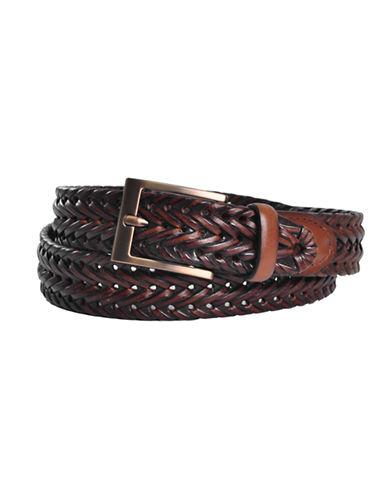 Dockers 35mm Braided Belt-BROWN-34