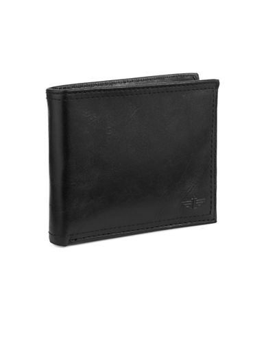 Dockers Leather Pocketmate Wallet-BLACK-One Size