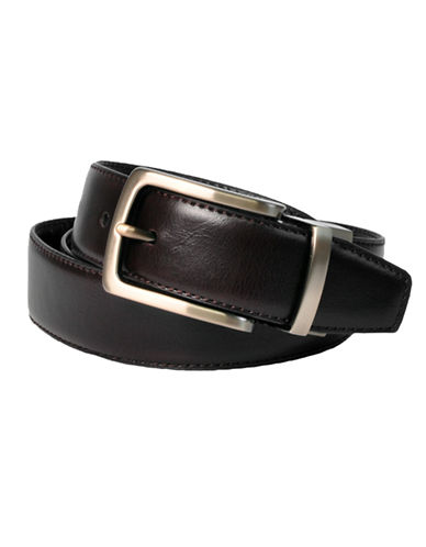 Dockers 32mm Reversible Leather Belt-BROWN/BLACK-38