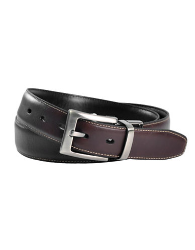 Dockers Reversible Slim Contrast Belt-BROWN/BLACK-38