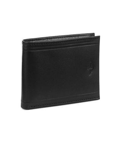 Dockers Extra Capacity Slimfold Wallet-BLACK-One Size