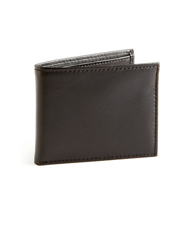 Black Brown 1826 Passcase Wallet-BLACK-One Size