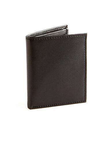 Black Brown 1826 Multi Card Holder Wallet-BLACK-One Size