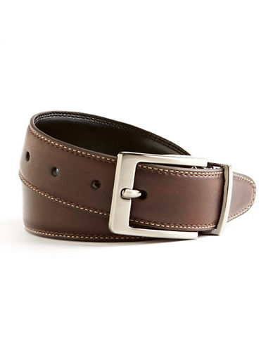 Black Brown 1826 Dressy Casual Belt-BROWN-38