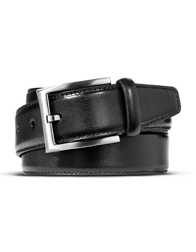 Dockers Leather Belt-BLACK-34