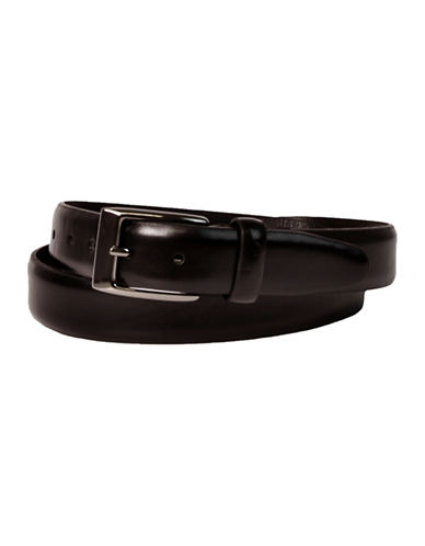 Dockers 32mm Classic Leather Belt-BLACK-42