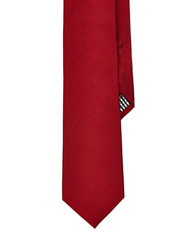 Ben Sherman Solid Tie-RED-One Size