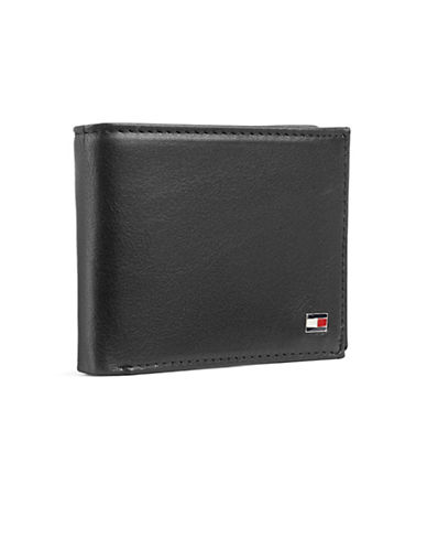 Tommy Hilfiger Darrel Double Billfold Wallet-BLACK-One Size
