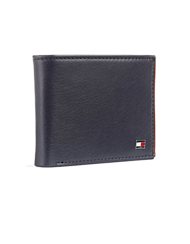 Tommy Hilfiger Darrel Double Billfold Wallet-NAVY-One Size