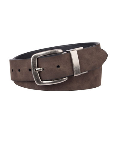 LeviS Twist Buckle Belt-BROWN-38