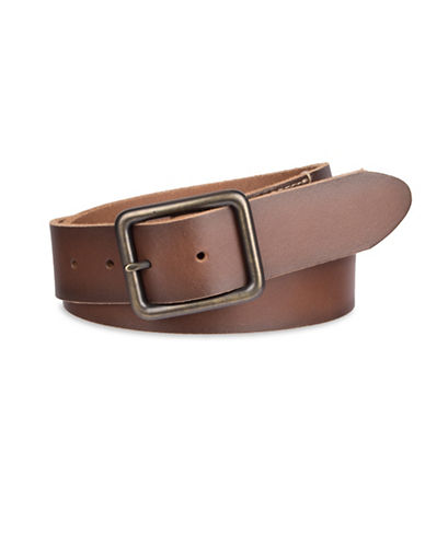 LeviS Horse Embossed Bridle Belt-BROWN-34