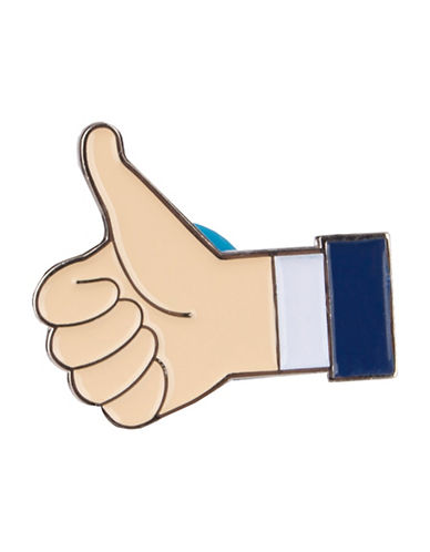 Pins Thumbs Up Pin-SAND-One Size