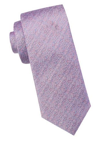 Ben Sherman Woven Silk Tie-BLUE-One Size