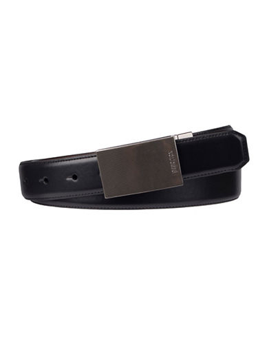 Kenneth Cole Reaction Stretch Belt-BLACK-34